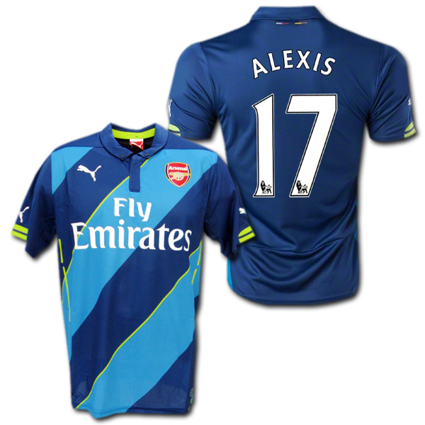694b095ed68 O.K.A.Football  Arsenal 14   15 3rd (blue dark blue)   17 ALEXIS ...
