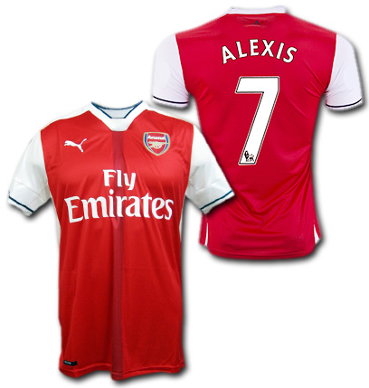 5f844ae75 O.K.A.Football  Arsenal home 16   17 (red)   7 ALEXIS Alexis Sanchez ...