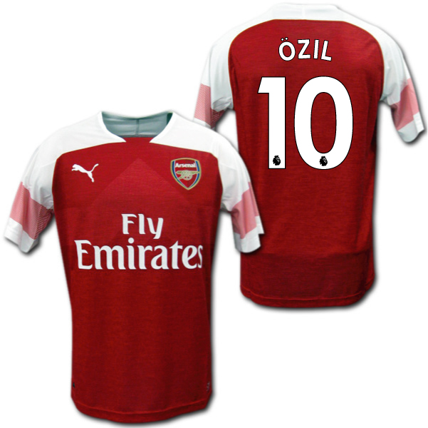timeless design 180d0 4ec67 Product made by Arsenal 18/19 home (red white) # 10 OZIL Mesut Ozil Puma