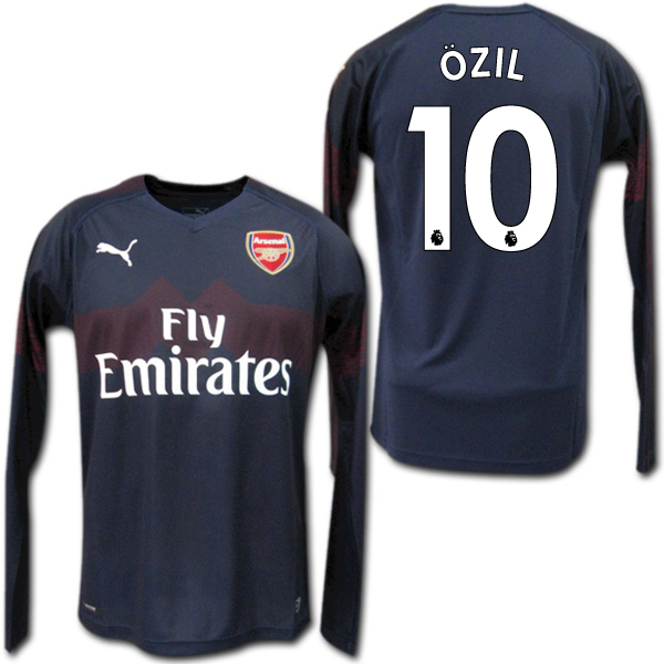 newest 01d84 4360e Product made by Arsenal 18/19 away (dark blue) long sleeves #10 OZIL Mesut  Ozil Puma