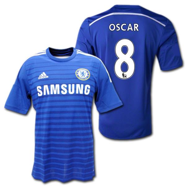 the best attitude 4457b 7c844 Chelsea 14 / 15 (blue) # 8 OSCAR Oscar manufactured by adidas
