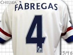 첼시15/16어웨이(흰색) # 4 FABREGAS 세스크・파브레가스아디다스제