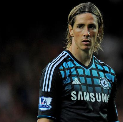 reputable site d30f7 a69bc Chelsea away 11/12 (black) # 9 TORRES Fernando Torres Premier patch with  adidas