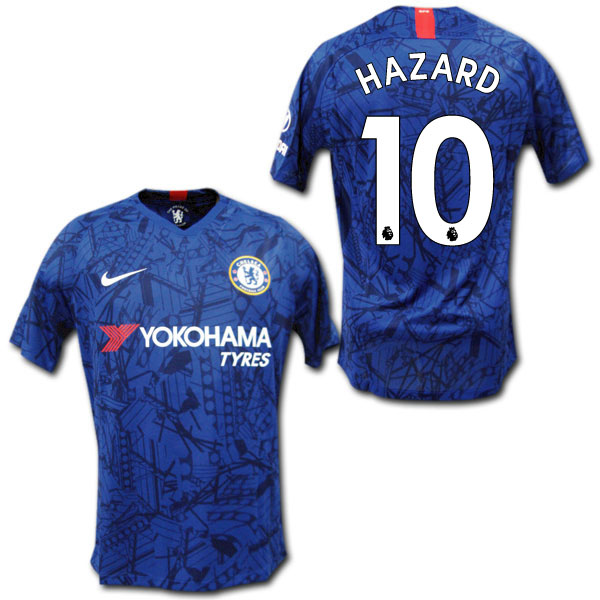 the latest c1597 ea5df Chelsea 19/20 home (blue) # 10 HAZARD Eden Hazard NIKE uniform