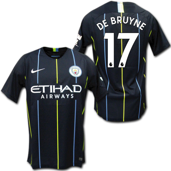 b2b755b8a7c O.K.A.Football  Product made by Manchester City 18 19 away (black ...