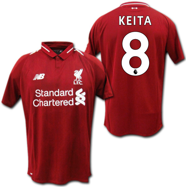 the best attitude 5f003 2f674 Product made by 18/19 Liverpool home (red) # 8 KEITA navigator Keita New  Balance