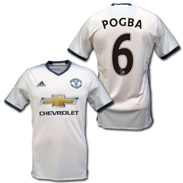 475a5a037 Manchester United 16   17 third (white)   6 POGBA Paul pogba made in adidas