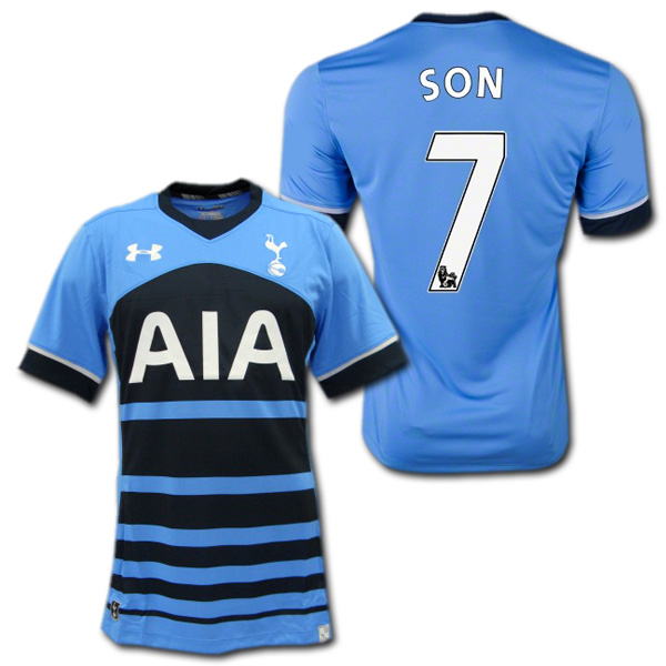 Tottenham Hotspur away 15 16 (Navy Blue)   7-SON son humming under armour fded32423