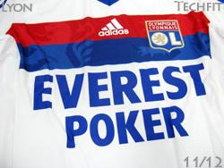 【ネームナンバー無料】オリンピック・リヨン 11/12 ホーム・白 TECHFIT・選手用 adidas