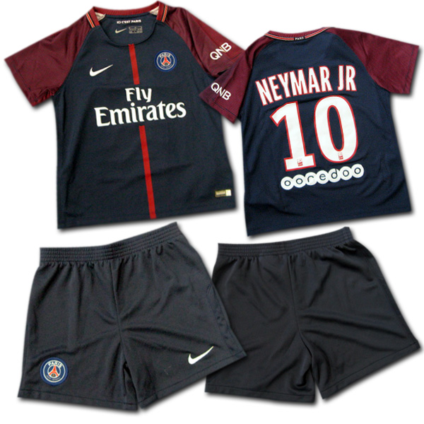 huge selection of 01fdf 333ae  17/18 Paris Saint-Germain #10 NEYMAR JR Ney marl home (dark blue) NIKE PSG