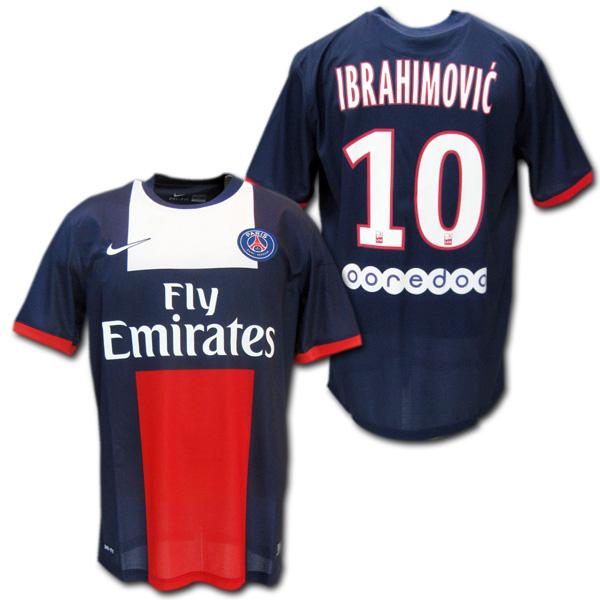 info for 763da 5f3d6 13 / 14 PSG Paris Saint-Germain home (dark blue) # 10 IBRAHIMOVIC '  Ibrahimovic made by Nike