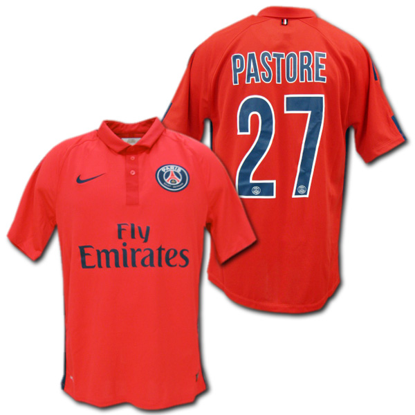 3b86db3a976 14     15 PSG Paris Saint-Germain 3 rd (red)   27 PASTORE Javier Pastore  Nike