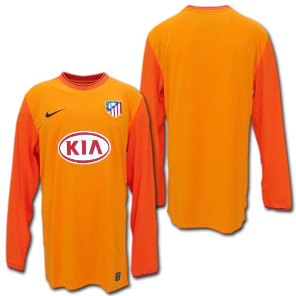 O.K.A.Football  And Atletico Madrid 09   10 GK keeper (orange) Nike ... d3a6d1a492c2