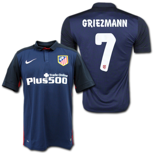 lowest price 4c80c 4ee6e Atletico Madrid-15/16 away (Navy Blue) # 7 GRIEZMANN Antoine Greece man Nike