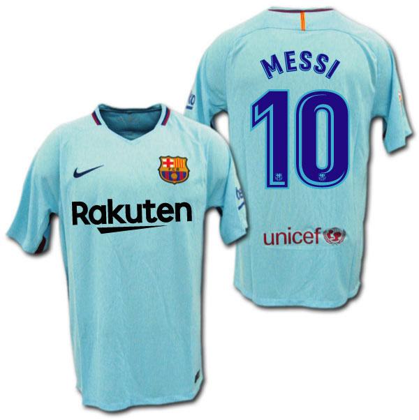 O.K.A.Football  17 18 FC Barcelona away  10 MESSI Lionel Messi NIKE ... 5292411da