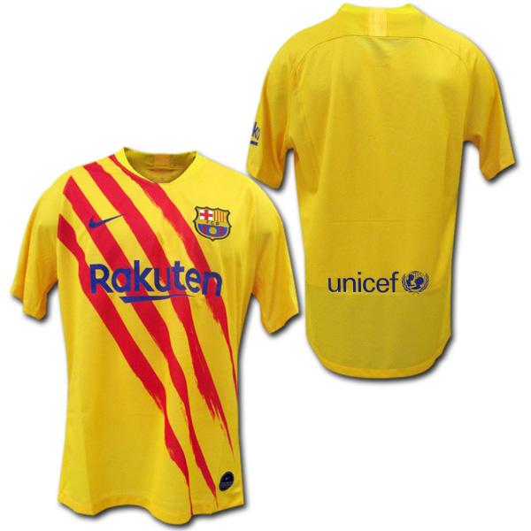 【限定1着】 19/20 FCバルセロナ 4th(黄色) NIKE 【メール便送料無料】