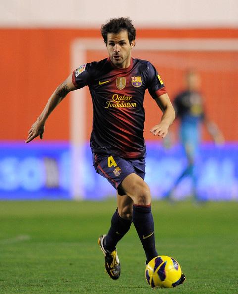 FC바르셀로나12/13홈 긴소매#4 FABREGAS 세스크・파브레가스나이키제