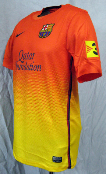 d4214dfba61 O.K.A.Football: Product made by FC Barcelona 12/13 away (orange x ...
