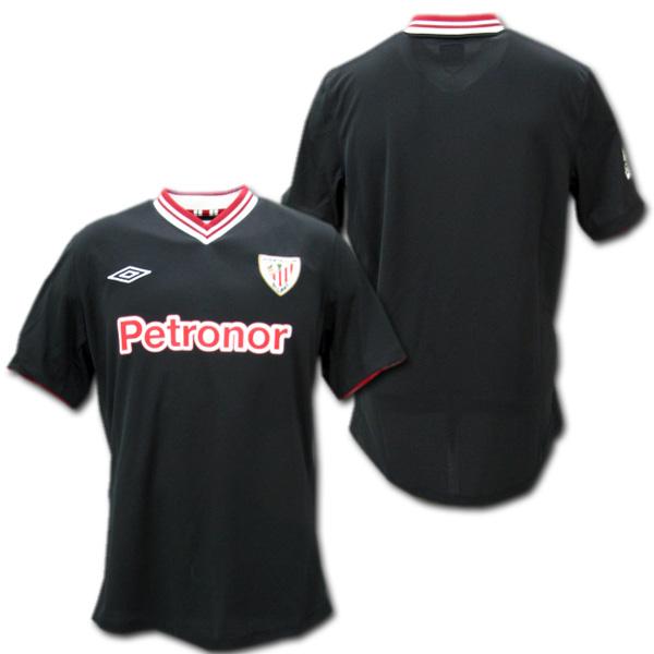 new style 776fc 6e94f  Athletic Bilbao away 12 / 13 (black)-Umbro