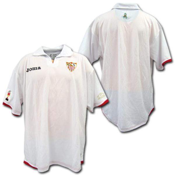 【現地限定】 セビージャ 2007年国王杯決勝モデル (白) ホマ製