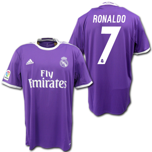 best cheap 7b6f5 79330  Product made by Real Madrid 16/17 away (purple) # 7 RONALDO Cristiano  Ronaldo Adidas