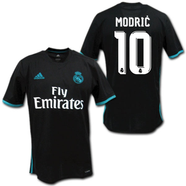 a3c4cf4a67c O.K.A.Football  Real Madrid 17 18 away (black)   10 MODRIC Luka Modric  adidas