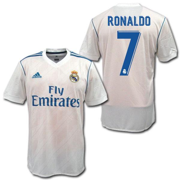 レアルマドリード 17/18 ホーム #7 RONALDO C.ロナウド adidas