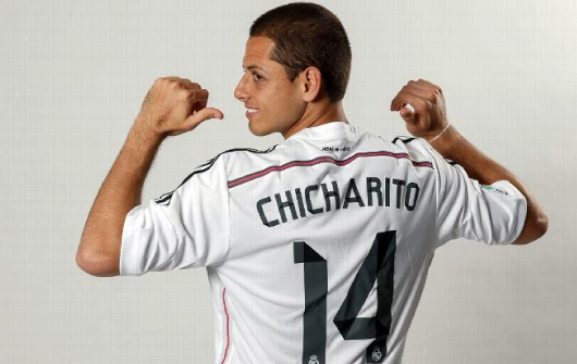 competitive price 9ab3a 6fe39 Made by adidas Real Madrid 14/15 home # 14 CHICHARITO Javier Hernandez
