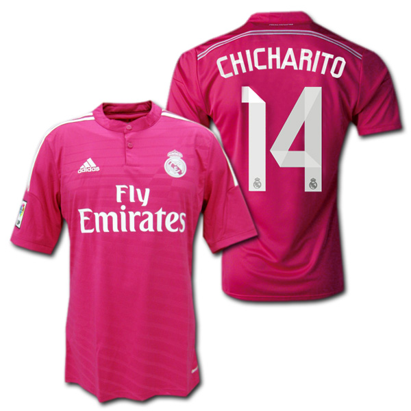190aa3db6 O.K.A.Football  Real Madrid 14   15 away (Pink)   14 CHICHARITO ...
