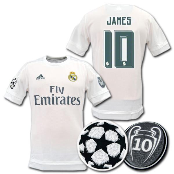 b43791e3dfe O.K.A.Football  Real Madrid 15 16 home Champions League model (white ...