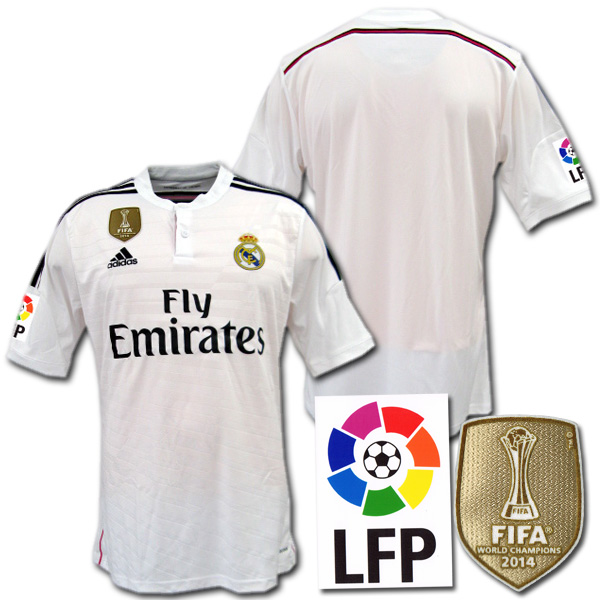 b4d5e5029 O.K.A.Football  Made by adidas Real Madrid 14   15 home (white ...