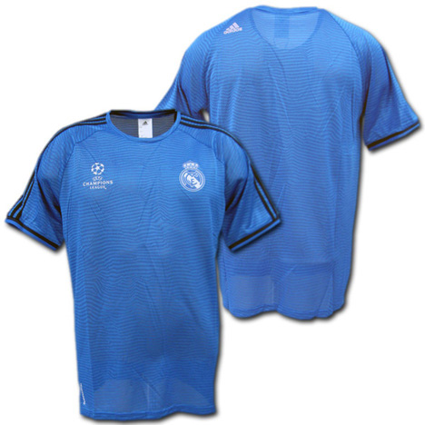 ccfbe5d6d O.K.A.Football  Product made by training (blue) Adidas for the Real Madrid  15 16 champions league