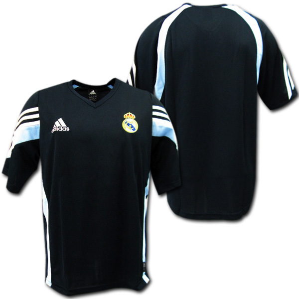 size 40 53c83 6bc0a 03/04 Real Madrid authentic sweat shirt (dark blue) adidas