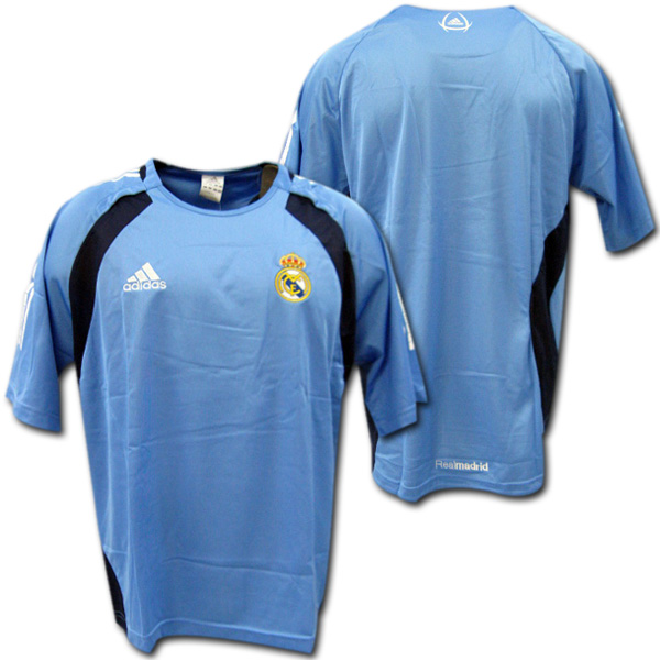 the latest 36110 0dba9 05/06 Real Madrid authentic sweat shirt (light blue) adidas