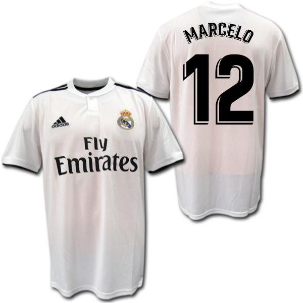 レアルマドリード 18/19 ホーム(白) #12 MARCELO マルセロ adidas【メール便送料無料】