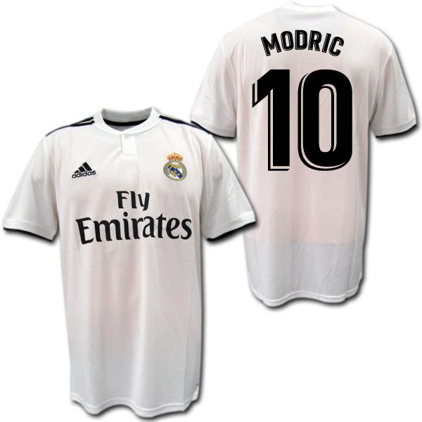 reputable site c19bc b1fba Real Madrid 18/19 home (white) # 10 MODRIC モドリッチ adidas