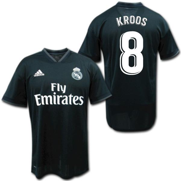 new arrival 83deb 47dec Real Madrid 18/19 away (black) # 8 KROOS Toni Kroos adidas