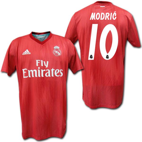 premium selection e06e3 c6757 Real Madrid 18/19 third (red) # 10 MODRIC Luka Modric adidas