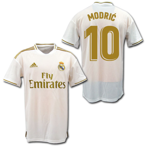 online store 46940 a05ec 19/20 Real Madrid home (white) # 10 MODRIC Luka Modric adidas