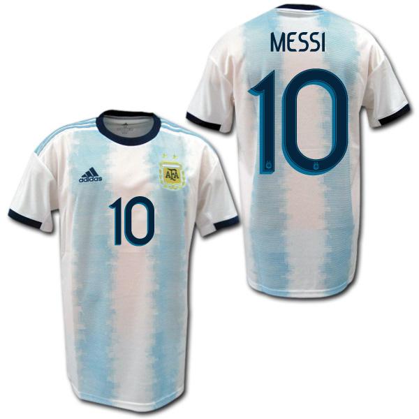 【コパ・アメリカ着用モデル】 2019 アルゼンチン代表 ホーム(水色/白) #10 MESSI リオネル・メッシ ADIDAS
