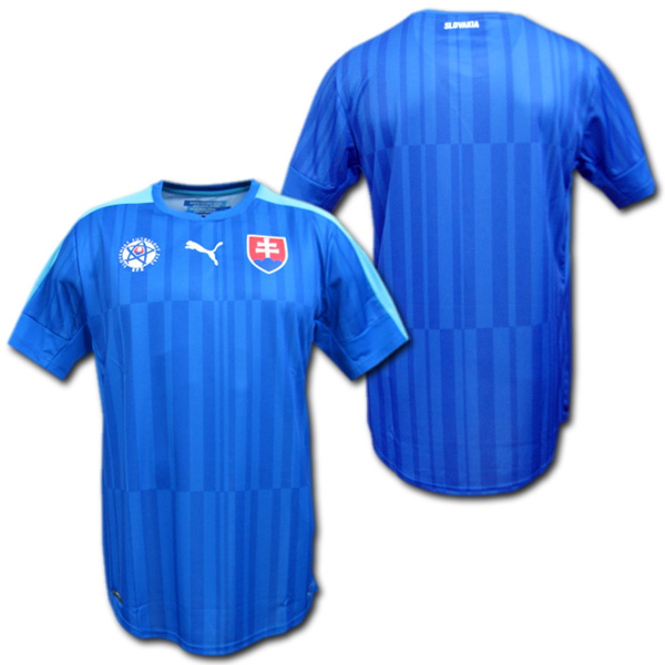 スロバキア代表 2016 アウェイ(青) プーマ