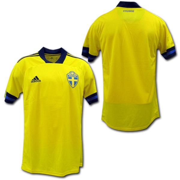 【EURO2020モデル】 2020 スウェーデン代表 ホーム(黄色) adidas【メール便送料無料】