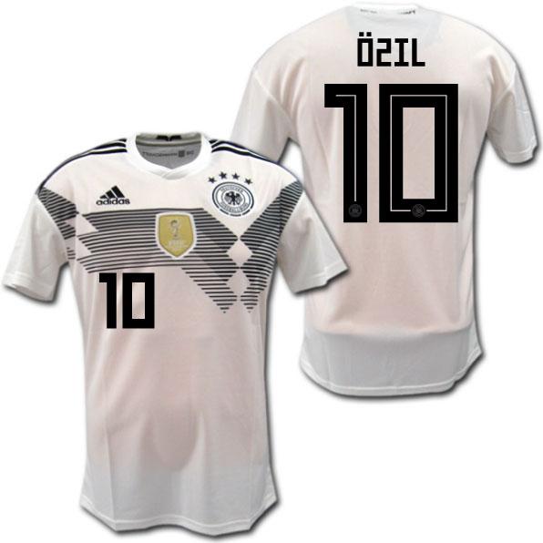 sports shoes 376ce 8ab1e German representative 2018 home (white) # 10 OZIL Mesut Ozil adidas