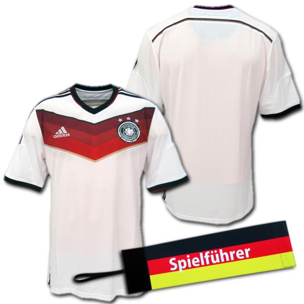 【ネームナンバー無料・入手困難・おまけ付】 2014 ドイツ代表 3星! ホーム(白) adidas