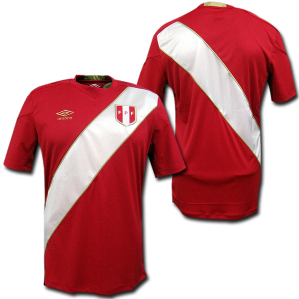 15502b172b2 It is made in representative from 2018 World Cup Peru away (red) Ann bath