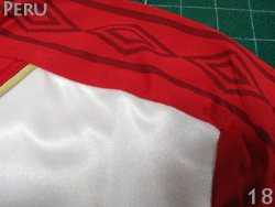 It is made in representative from 2018 World Cup Peru away (red) Ann bath 304bd0429