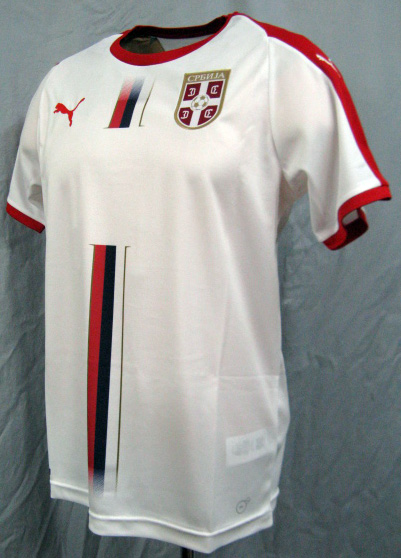 6aa046d7a Product made in representative from 2018 World Cup Serbia away (white) PUMA