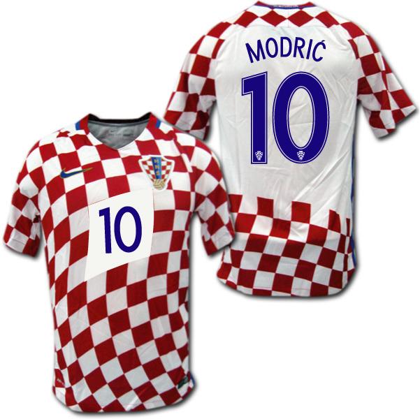 2016 クロアチア代表 ホーム(白/赤) #10 MODRIC モドリッチ ナイキ製【メール便送料無料】
