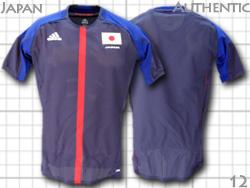【ネーム&ナンバー無料】: オーセンティック オリンピック 12 日本代表 ホーム(紺) adidas製