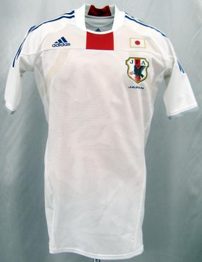 【ネームナンバー&送料無料】 日本代表 2010 アウェイ(白) テックフィット/選手用 adidas製